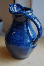 Load image into Gallery viewer, Gas Fired Ocean Blue Pitcher