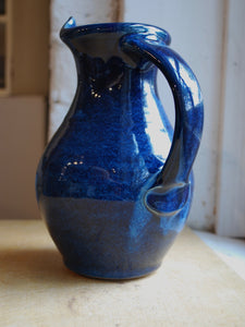 Gas Fired Ocean Blue Pitcher