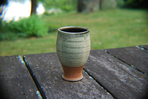 Squared Soda-Fired Small Tumbler