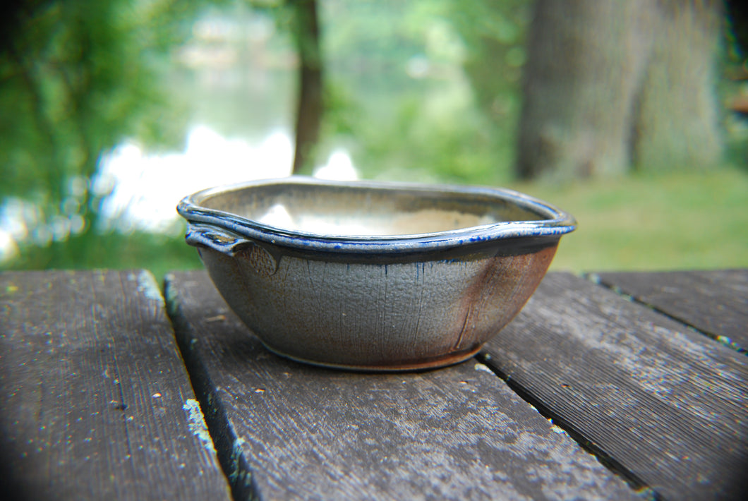 Small Soda-Fired Baking Dish