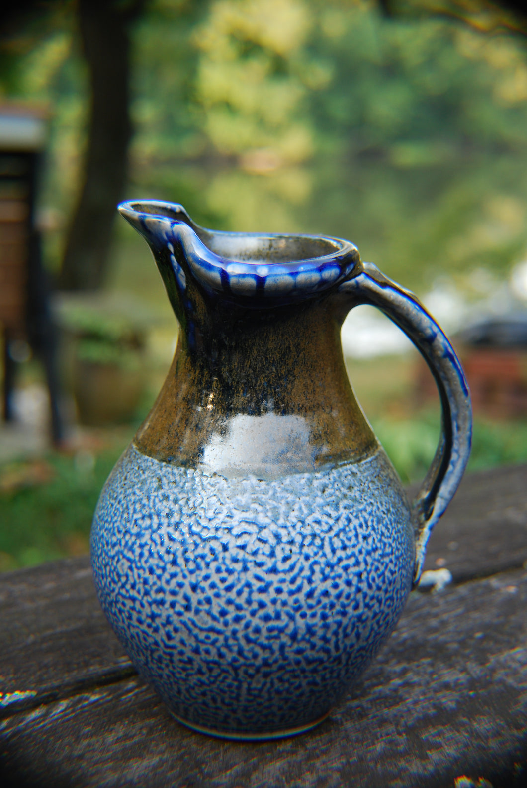 Soda-Fired Quart Pitcher