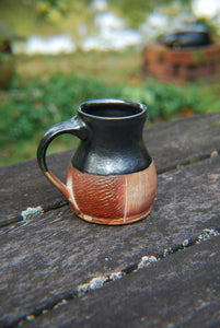 Soda-Fired Square Mug