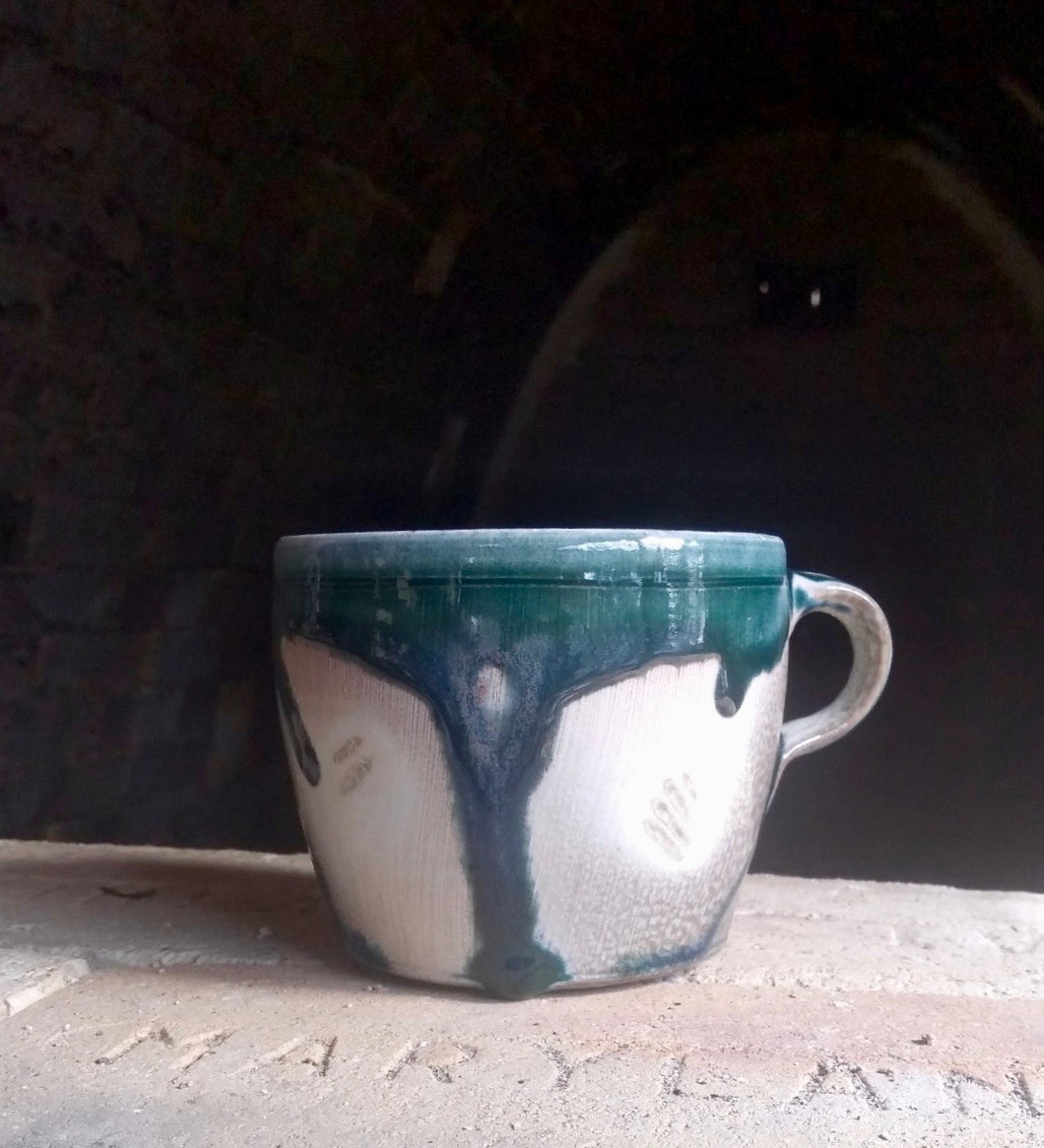 Soda-Fired Porcelain Mug