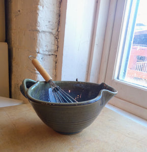 Stoneware Whisk Bowl