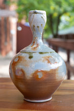 Load image into Gallery viewer, Vase Side-Fired on Sea Shells