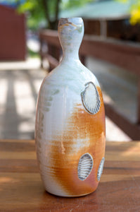 Vase Side-Fired on Sea Shells