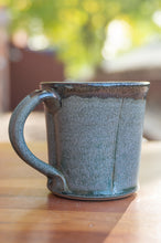 Load image into Gallery viewer, Teal and Black Squared Mug