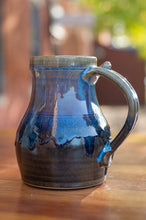 Load image into Gallery viewer, Mark's Mug in Breakfast Blue and Black