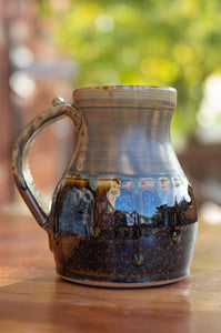Mark's Mug in Honey Ash and Chocolate Brown