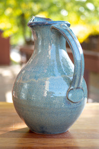 Large Pitcher in Breakfast Blue