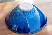 Load image into Gallery viewer, Large Serving Bowl in Ocean Blue