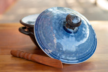 Load image into Gallery viewer, Lidded Pate Dish in Blue Ash and Black