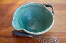 Load image into Gallery viewer, Small Whisk Bowl in Turquoise and Black