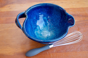 Small Whisk Bowl in Ocean Blue