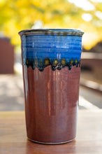 Load image into Gallery viewer, Blue Ash and Rust Red Wine Cooler