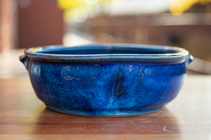 Small Baking Dish in Ocean Blue