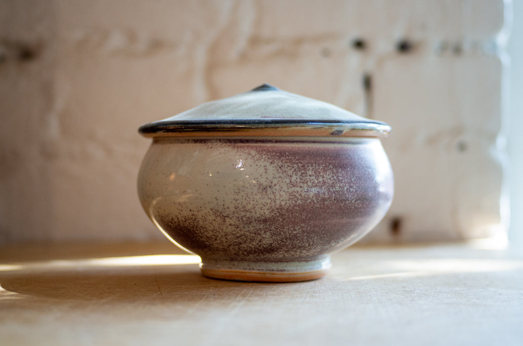 Soda-Fired Bowl with Lid