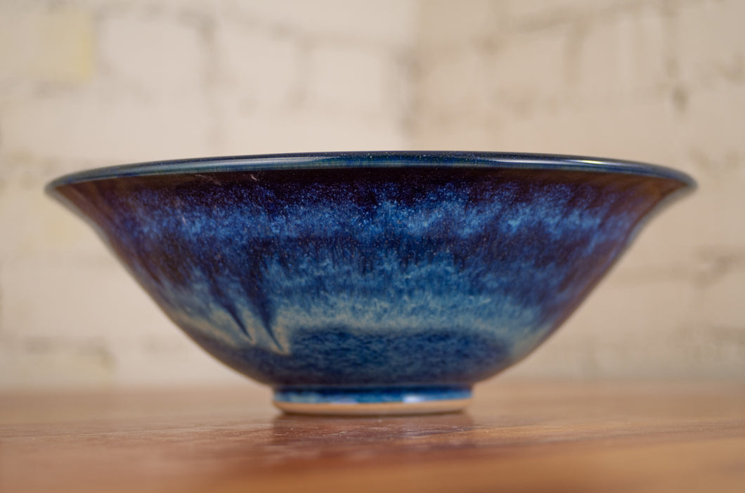Bowl in Ocean Blue and Black