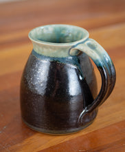 Load image into Gallery viewer, Turquoise Stone and Black Mugs