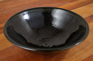 Bowl in Midnight Sky and Black