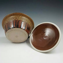 Load image into Gallery viewer, Honey Ash and Chocolate Lidded Pate Dish