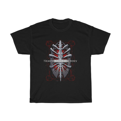 HWF 'Ribs' Unisex Heavy Cotton Tee