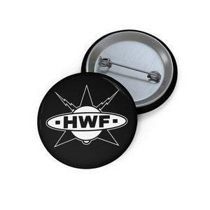 HWF Retro Logo Pin