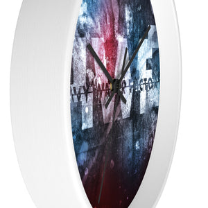 HWF BLIP ART - Wall clock
