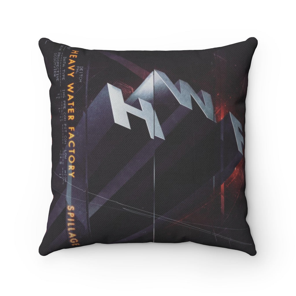 HWF 'Spillage' Spun Polyester Square Pillow