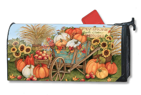 Pumpkin Wagon Mail Wrap