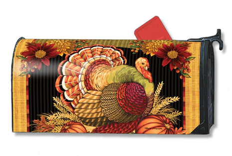 Thankful Turkey Mail Wrap