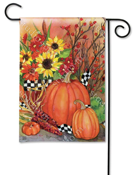Ready for Fall Garden Flag