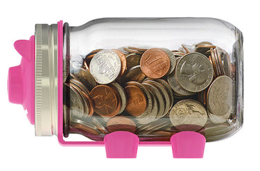 Pink Piggy Bank Lid