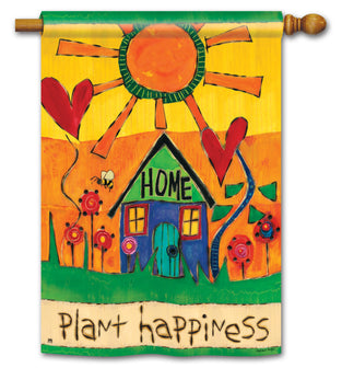 Plant Happiness Standard Flag