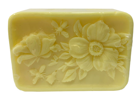 Rectangle Luxury Soap with Bees and Flowers