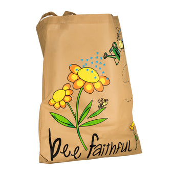 Bee Faithful Tote Bag