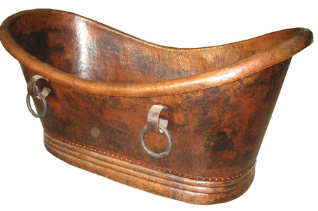 Large Copper Bathtub