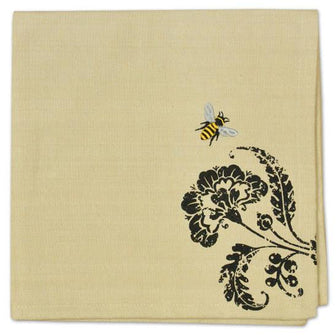 Busy Bees Embroidered Napkin