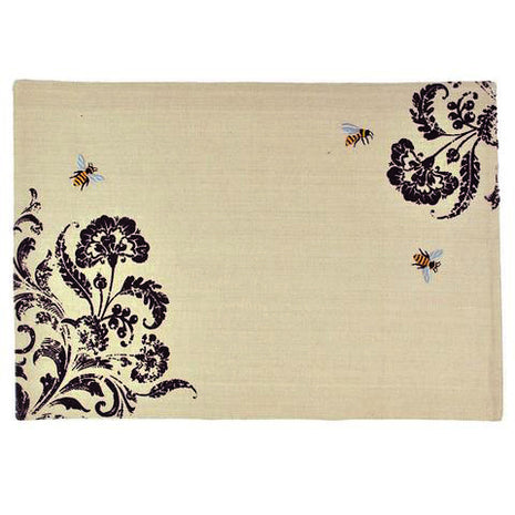 Busy Bees Embroidered Placemat