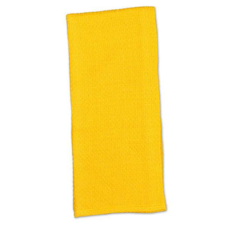 Canary Yellow Honeycomb Dishtowel