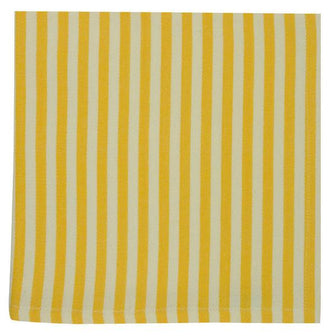 Canary Yellow Petite Stripe Napkin