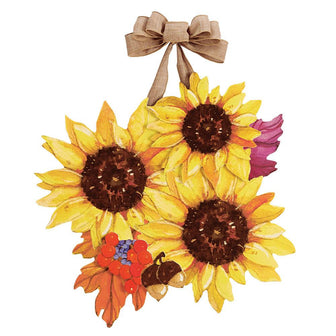 Sunflower Splendor Door Decor
