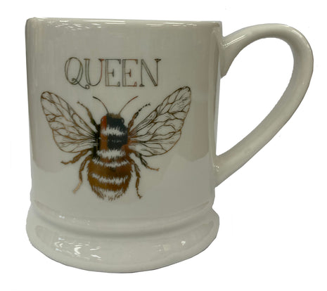 Gold Queen Ceramic Mug