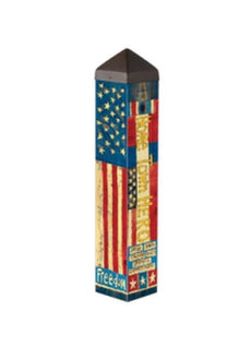 Hometown Hero Art Pole
