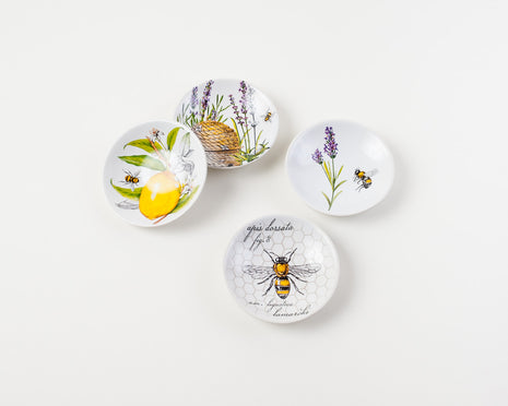 Botanical Dipping Bowls, Set of 4