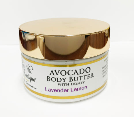 Avocado Body Butter in Lavender Lemon