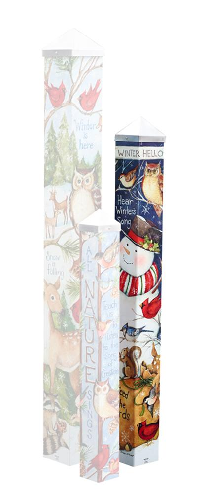 Winter Wonders Art Pole
