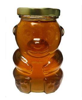 Honey in Glass Bear Jar