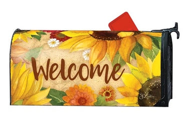 Yellow Sunflower Welcome Mail Wrap