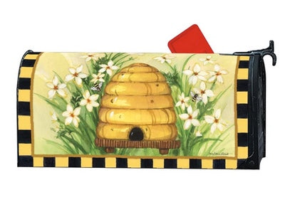 Bee Skep Mail Wrap